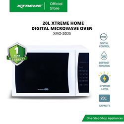 XTREME HOME 20L Digital Microwave Oven (XMO-20DS)