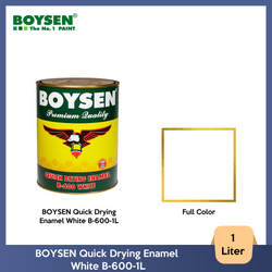 BOYSEN Quick Drying Enamel White B-600-1L