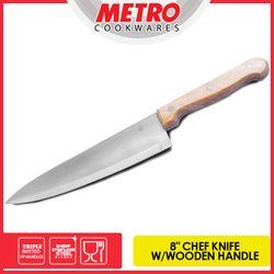 METRO     MKK 5118in CHEF KNIFE - WOODEN HANDLE