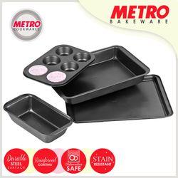 Metro MB 5540 4pc Non-stick Bakeware Set