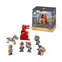 Janod Mini Story Box Toy - Knights