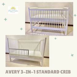 Lily and Tucker Avery 3 in 1 Convertible Crib