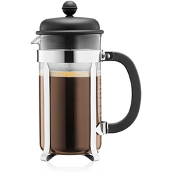 Bodum CAFFETTIERA COFFEE MAKER,8cup,1.0L,34oz,BLACK/1918-01