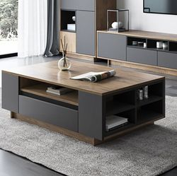 Modern Design Center Table with Drawer