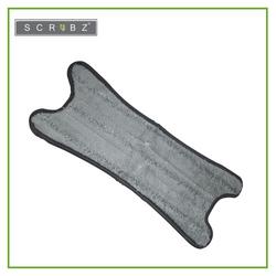 SCRUBZ Heavy Duty Cleaning Essentials Premium Microfiber Twist Mop Refill 37cm
