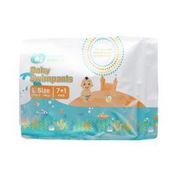 Orange and Peach Basics Baby Swimpants (8 pcs.)