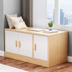 Caliman Windowside Low Cabinet - 1 pc (3 doors total)