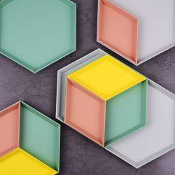 Geometric Trays (4 pc set)