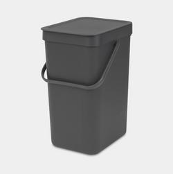 Brabantia Waste Bin Sort&Go-12L-Grey