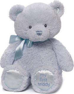 Gund My 1st Teddy Blue15-inch