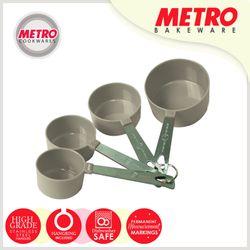 Metro MB 5545 4 pcs Plastic Measuring Cup