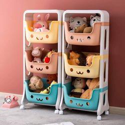 3 Layer Trolley Toy Organizer