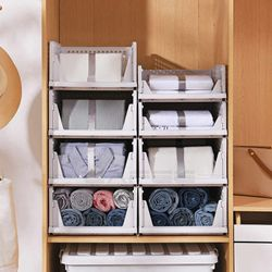 Homescapes Clothes Drawer Organizer