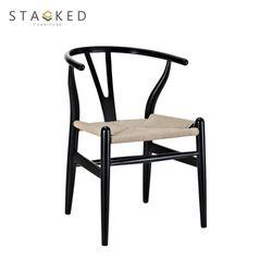 Oslo Wood Chair (Black)