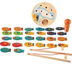 Wooden Fishing Game