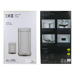 Eko Stella Step Bin 6L + 30L