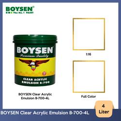 BOYSEN Clear Acrylic Emulsion B-700-4L