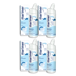 Marimer Baby Isotonic Seawater Nasal Spray 100ml Pack of 4