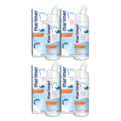 Marimer Baby Hypertonic Seawater Nasal Spray 100ml Pack of 4