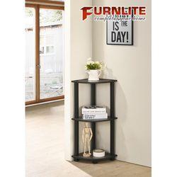 Furnlite 3 Tier corner Shelf