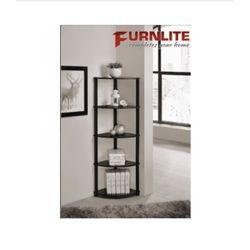 Furnlite 5 Tier Corner Shelf