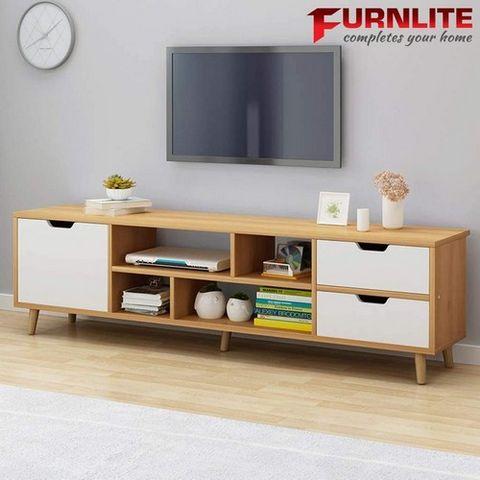 Furnlite Modern Entertainment Stand