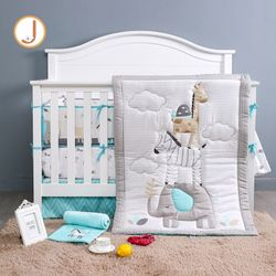 Balancing Animals 7 Piece Crib Bedding Set