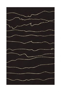 """BLACK AND BEIGE ART 8 POSTER 19x27"""""""