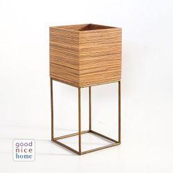 Good Nice Home Square Nook Plant Box - Short
