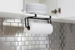 Umbra Squire Multi-Use Paper Towel Holder Black