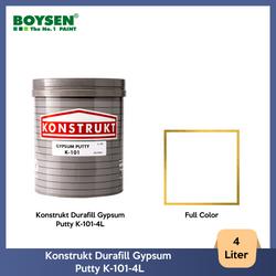 Konstrukt Durafill Gypsum Putty K-101-4L