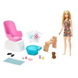 Barbie Fab Wellness Mani-Pedi Playset