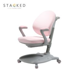 STACKED  Swift Ergonomic Study Chair (Pink)