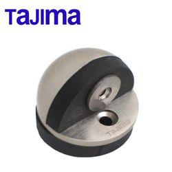 Satin Nickel Oval Dome Floor Mounted Magnetic Door Holder Catch Stopper