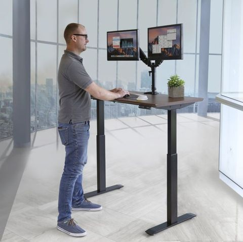 Airlift Electric Height Adjustable Standing Desk w/ USB Charger
