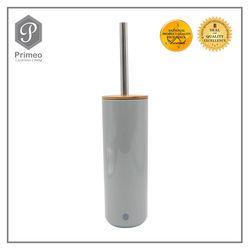 Primeo Bathroom Accessories Bamboo Gray Series Toilet Brush