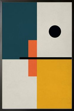 """ABSTRACT SOLID POSTER 24x36"""""""