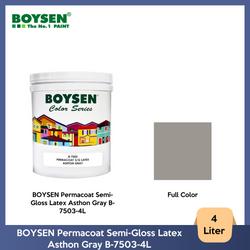 BOYSEN Permacoat Semi-Gloss Latex Asthon Gray B-7503-4L