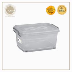 NEST DESIGN LAB Premium Stackable Storage Box w/ Wheels 70L
