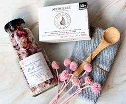 Soak, Buff, and Cleanse Gift Box