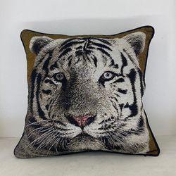 ARQ Curtains Tiger 18x18 Safari Collections Pillowcase