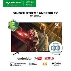 XTREME 50-inch Android 10.0 4K Ultra HD Frameless LED TV (MF-5000SA)