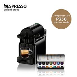 Nespresso® Inissia with Complimentary Welcome Coffee Set
