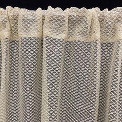ARQ Curtains SHIR Utrect Cream 96' Curtain