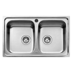 Teka Universo Stainless Steel Inset Kitchen Sink 2 Bowl 1112.0027