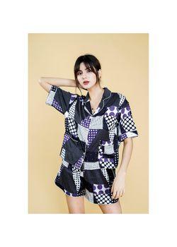 Intissimo Helsey Short Silk Pyjama