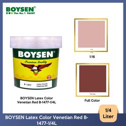 BOYSEN Latex Color Venetian Red B-1477-1/4L