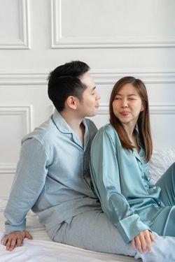 Intissimo-Kenneth Sleepwear And Pajama Silk Set For Men