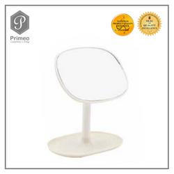 Primeo Bathroom Accessories Bamboo White Series Vanity Mirror
