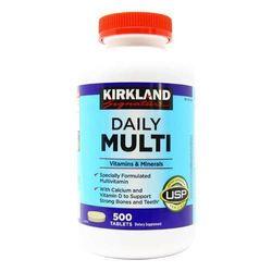 Kirkland Signature Daily Multi Vitamins And Mineral 500 tablets